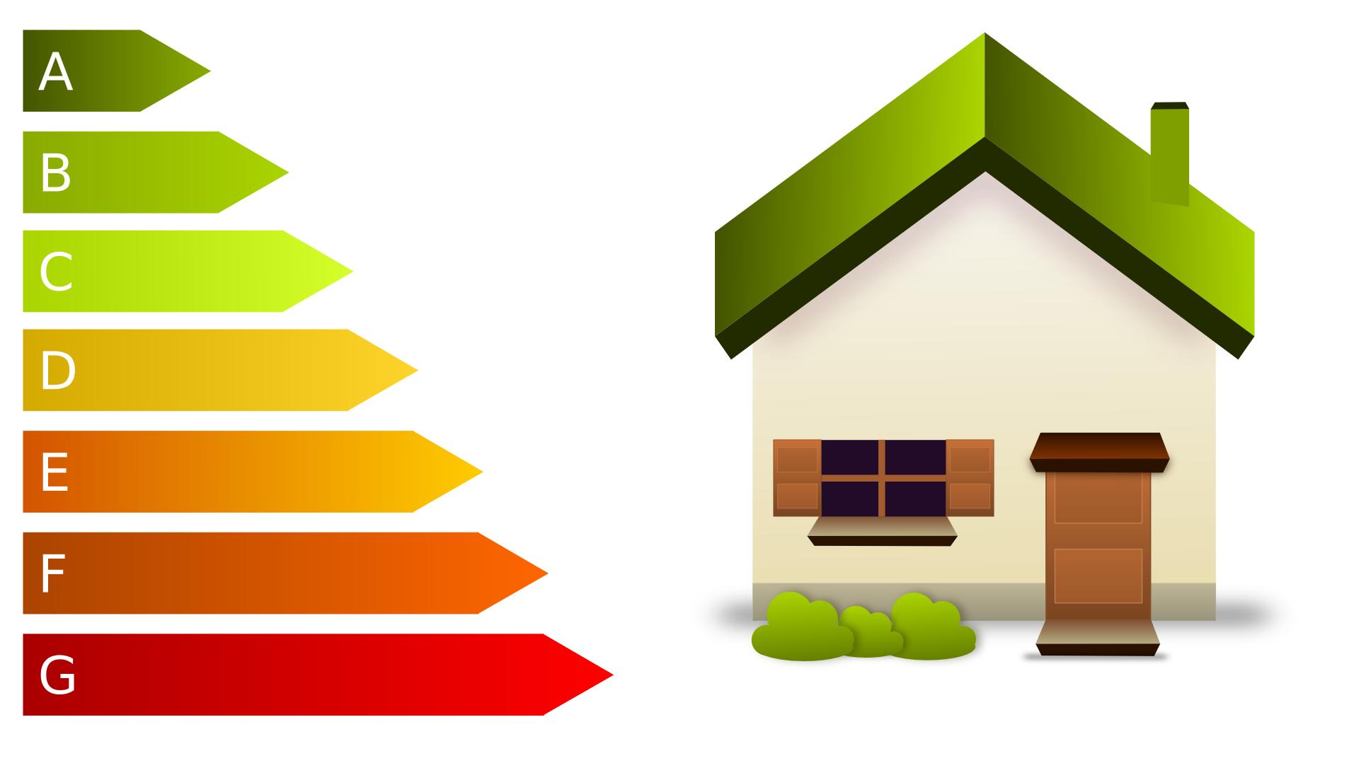 Imagen del logo del certificado, junto con una casa